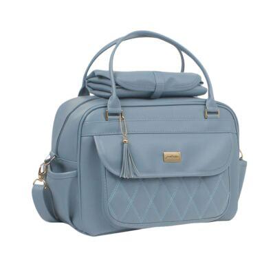 Imagem 2 do produto Bolsa maternidade + Frasqueira térmica Tassel Azul - Just Baby