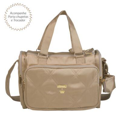 Imagem 1 do produto Bolsa para bebe Anne Caqui Classic Golden - Masterbag