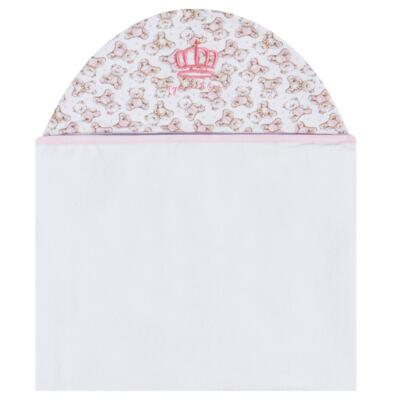 Imagem 1 do produto Toalha com capuz Princess Bear - Classic for Baby