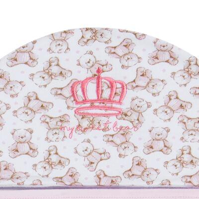 Imagem 2 do produto Toalha com capuz Princess Bear - Classic for Baby
