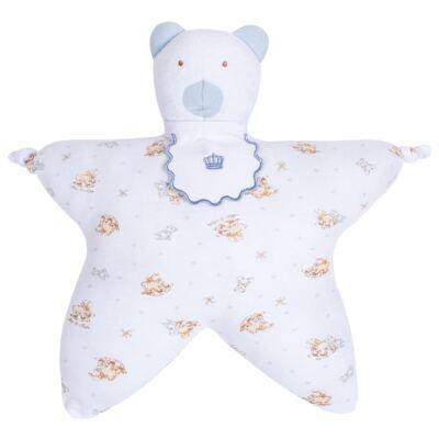 Imagem 1 do produto Nanão para bebe em suedine Blue Little Toys - Classic for Baby