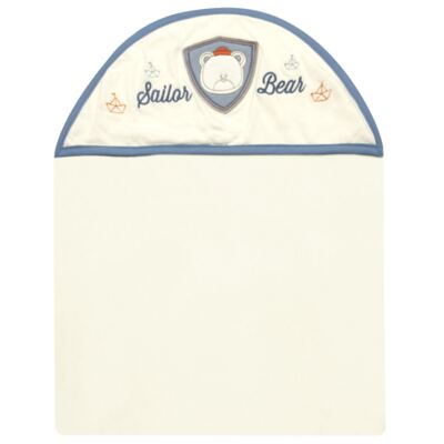Imagem 1 do produto Toalha Max com capuz atoalhado Sailor - Classic for Baby