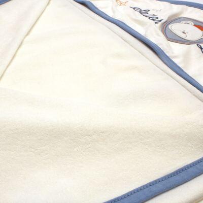 Imagem 4 do produto Toalha Max com capuz atoalhado Sailor - Classic for Baby