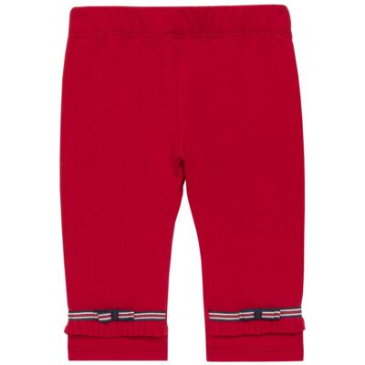 Imagem 3 do produto Legging para bebe em viscomfort Laço Vermelha - Baby Classic - 20511628 LEGGING C/ LAÇO VISCOMFORT BUTTERFLY-3
