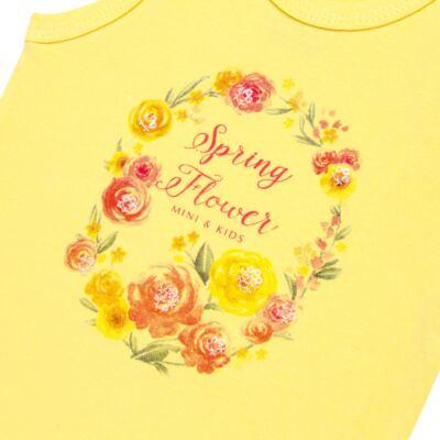 Imagem 2 do produto Body regata para bebe em spandex Spring Flower - Mini & Kids - BRNE1650 BODY NADADOR EXPAND FLORAL 3-M