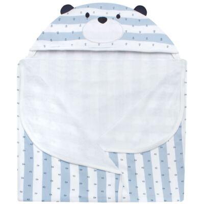 Imagem 2 do produto Toalha Max com capuz Blue Captain - Classic for Baby