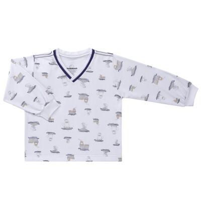 Imagem 2 do produto Pijama longo em moletinho Wally - Dedeka - DDK16638/E112 Pijama Moletinho Morsa-2