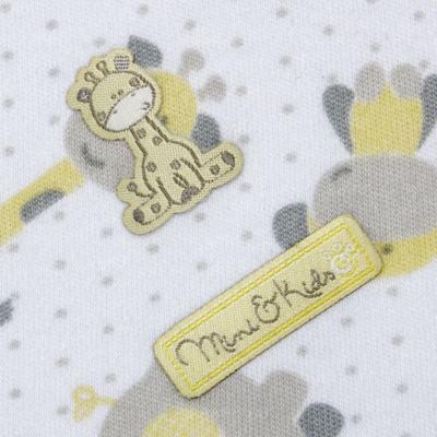 Imagem 2 do produto Manta em algodão egípcio c/ jato de cerâmica e filtro solar fps 50 Nature Giraffe & Friends - Mini & Kids