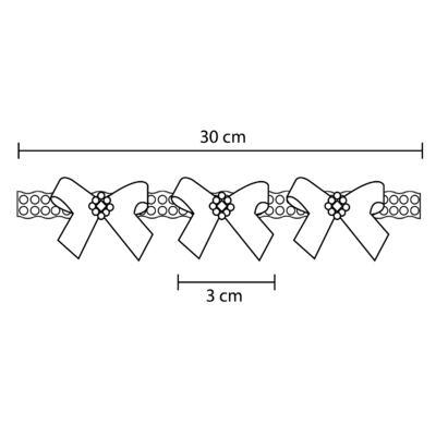 Imagem 4 do produto Headband Lacinhos & Pérolas Marfim - Roana