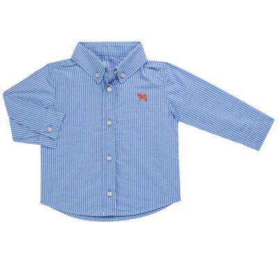 Imagem 1 do produto Camisa em tricoline Azul - Charpey