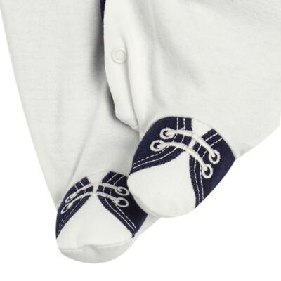 Imagem 5 do produto Jogo Maternidade: Macacão Casaco + 2 Gravatas Borboleta + Manta em suedine Lord - Anjos Baby - AB163653M KIT MACACAO MANTA CHIC-RN