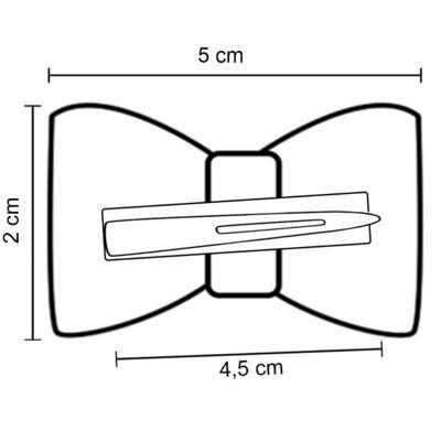 Imagem 4 do produto Presilha laço Coroa & Strass Marfim - Roana