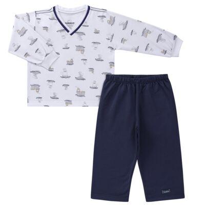 Imagem 1 do produto Pijama longo em moletinho Wally - Dedeka - DDK16638/E112 Pijama Moletinho Morsa-1