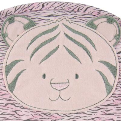 Imagem 2 do produto Toalha com capuz Tigrinha Rosa - Classic for Baby