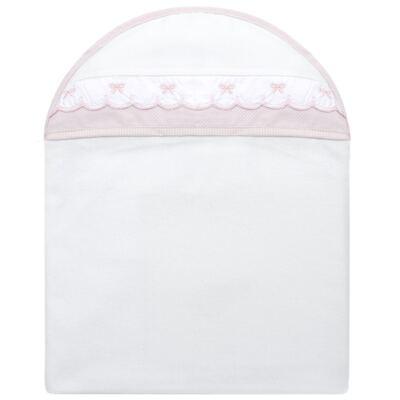 Imagem 1 do produto Toalha com capuz Lacinhos - Classic for Baby