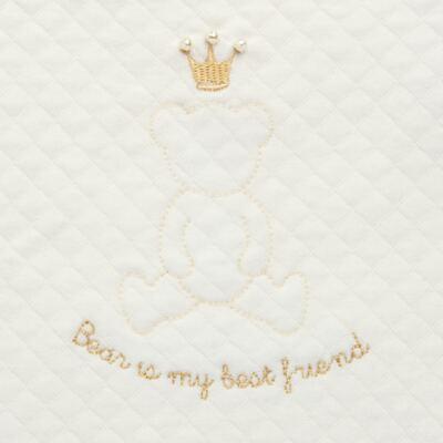 Imagem 3 do produto Porta Roupinhas para Maternidade Marfim Matelassê - Grow Up