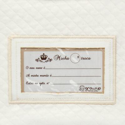 Imagem 4 do produto Porta Roupinhas para Maternidade Marfim Matelassê - Grow Up