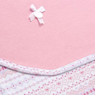 Imagem 2 do produto Manta em algodão egípcio c/ jato de cerâmica e filtro solar fps 50 Tribal Print - Mini & Kids