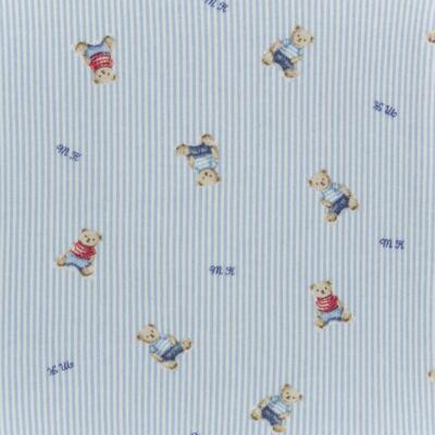 Imagem 3 do produto Manta para bebe em algodão egípcio c/ jato de cerâmica e filtro solar fps 50 Mr. Bear - Mini & Kids