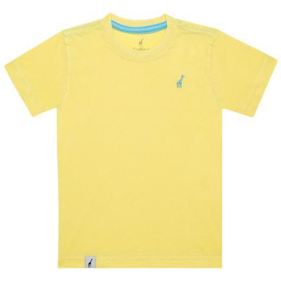Imagem 1 do produto Camiseta básica em malha Amarela - Toffee - 900T1424 CAMISETA MC MALHA AMARELO-2