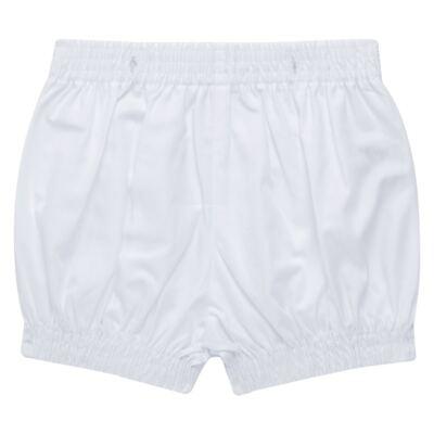 Imagem 6 do produto Camisa Colete & Gravata com Shorts em tricoline Branco - Sylvaz - SZ487 CONJUNTO CURTO BATIZADO C/ COLETE E GRAVATA-M