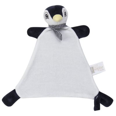 Imagem 2 do produto Naninha Chocalho em plush Pinguim - Anjos Baby