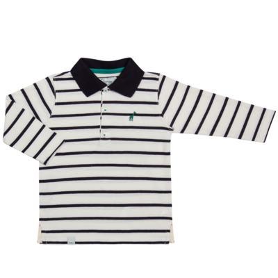 Imagem 1 do produto Camiseta Polo em malha Champions - Toffee - 65PM0001.321 CAMISETA POLO M/L - MALHA-3