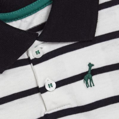 Imagem 2 do produto Camiseta Polo em malha Champions - Toffee - 65PM0001.321 CAMISETA POLO M/L - MALHA-3