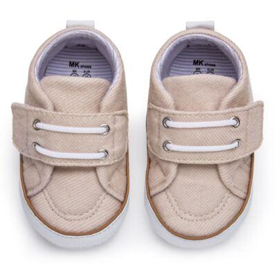 Imagem 1 do produto Tênis em sarja Basic Denim Caqui - Mini & Kids - 520.012.0811999 TÊNIS MK 0 MK -15