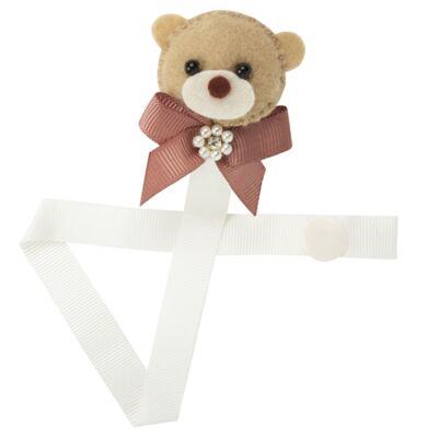Imagem 1 do produto Prendedor de Chupetas Ursa Rose - Roana