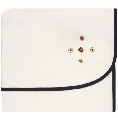 Imagem 1 do produto Manta forrada em malha Mini Brasões - Classic for Baby