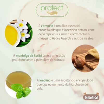 Imagem 5 do produto Kit Touca Luva e Sapatinho em suedine Baby Protect Branco - Nano Protect