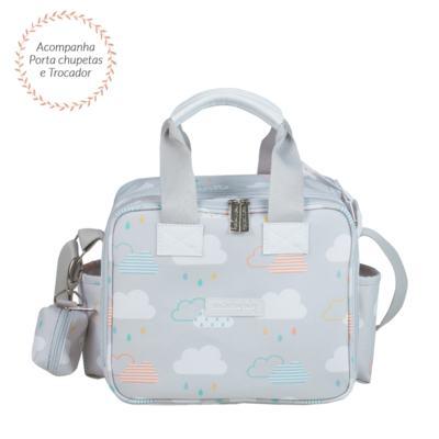 Imagem 4 do produto Bolsa para bebe Toulouse + Bolsa térmica organizadora Nuvem - Masterbag
