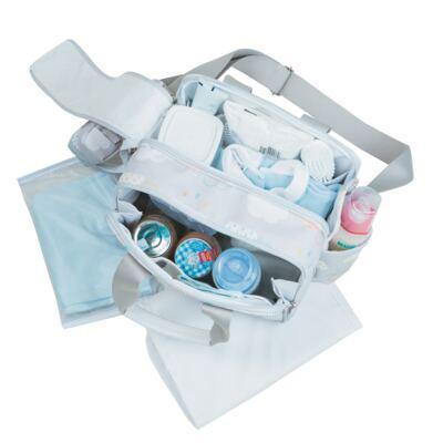Imagem 5 do produto Bolsa para bebe Toulouse + Bolsa térmica organizadora Nuvem - Masterbag