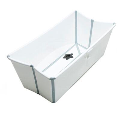 Imagem 1 do produto Banheira Stokke Dobrável Branca - FlexiBath