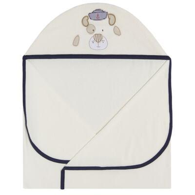 Imagem 2 do produto Toalha Max com capuz Sailor Dog  - Classic for Baby