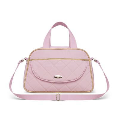 Imagem 3 do produto Bolsa + Frasqueira para Bebê Mosaic Rosa - Classic for Baby Bags