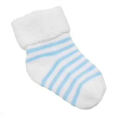 Imagem 2 do produto Meia para bebe atoalhada Azul - Panda Care