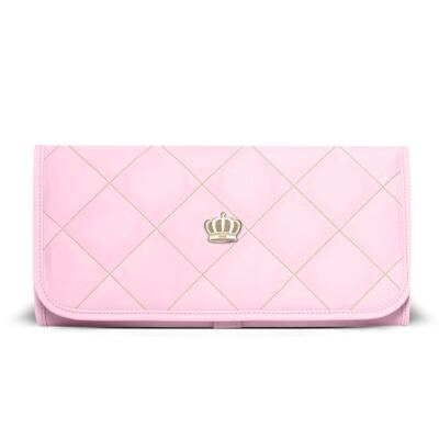 Trocador Portátil para bebe Queen Light Pink - Classic for Baby Bags