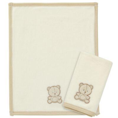Imagem 1 do produto Kit com 2 fraldas de boca para bebe atoalhadas Nature Cute Bear - Classic for Baby