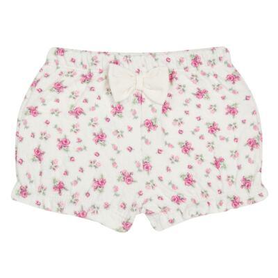 Imagem 4 do produto Body Polo com Shorts para bebe em suedine Florale - Grow Up - 04080008.0004 CONJUNTO FLOWERY CREME-M