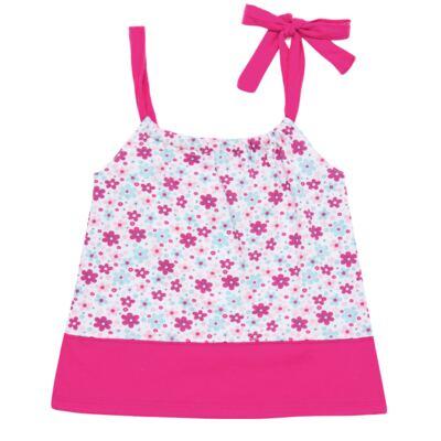 Imagem 1 do produto Vestido para bebe em malha Little Cute - Vicky Lipe - 22771362 VESTIDO ALCINHA MALHA ELEFANTINHO-2