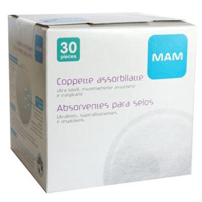 Imagem 1 do produto Absorventes para seios (30pçs) - MAM