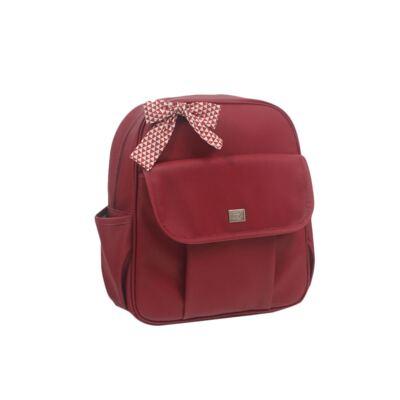 Imagem 5 do produto Mala maternidade + Bolsa + Frasqueira térmica + Mochila + Porta Mamadeira Laço Vermelho - Hey Baby