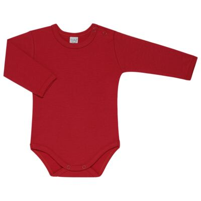 Imagem 3 do produto Kit 2 Bodies longos para bebe Red Anchor - Vicky Lipe - LTPBML07 PACK 2 BODIES ML LISTRA ÂNCORA/VERMELHO-RN