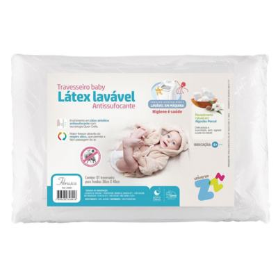 Imagem 1 do produto Travesseiro Látex Baby Antissufocante - Fibrasca