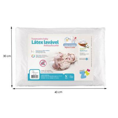 Imagem 4 do produto Travesseiro Látex Baby Antissufocante - Fibrasca