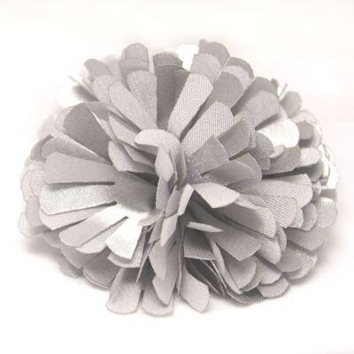 Imagem 1 do produto Presilha Pom Pom Prata - Me Encanta