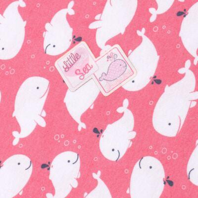 Imagem 2 do produto Manta para bebe em high comfort Cute Whale - Vicky Lipe