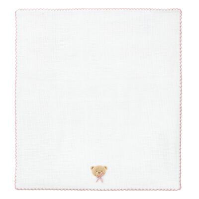 Imagem 2 do produto Kit com 3 fraldinhas de boca em fralda Maternity Pink Bear - Classic for Baby